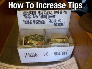 Increase Tips - Coffeehouse
