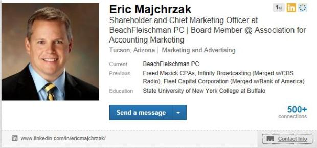 LinkedIn-MarketingGuruProfile