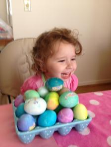Baby Girl - Easter Eggs
