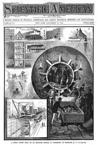 Scientific American, Volume LIII, No. 24 (12 December 1885), cover