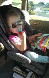 Car trips...