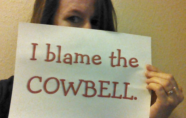 JulieGlover_Cowbell pic