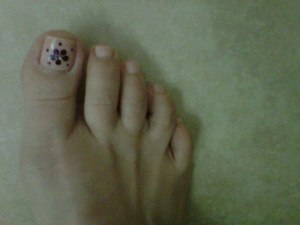 Jenny Hansen cute toes