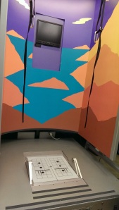 Or having the floors and walls move in the Hippie Balance Booth