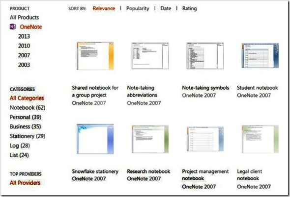 Templates for onenote 2010 amitdhull templates for onenote 2010 pronofoot35fo Image collections