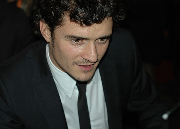 Orlando Bloom BAFTA 2008