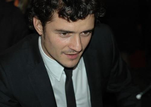 Orlando Bloom BAFTA 2008