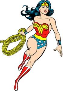 Wonder Woman Stance